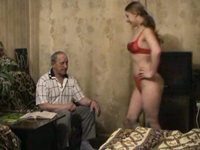 Порно онлайн внучка соблазнила деда