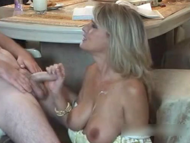 Skinny blonde black cock threesome