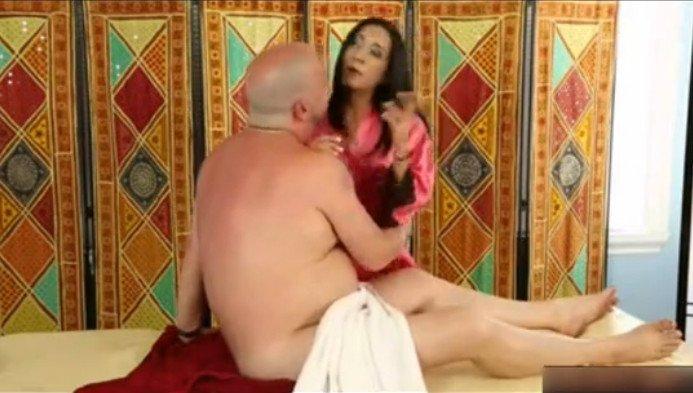 массаж для папы порно русское